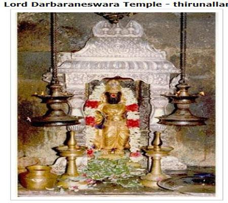 Thirunallaru Shaneeshwara Temple Legend