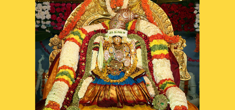 Padmawathi Thayar (Mother) in Alamelu Mangapuram