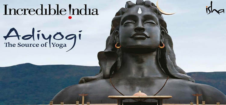 Adiyogi of Isha Yoga Centre, Coimbatore – Bharat