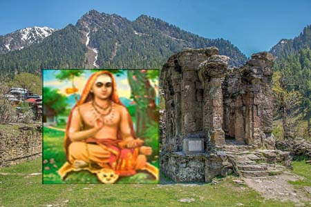 What Is The Connection Between Adhi Shankara Acharya And Kashmir ?