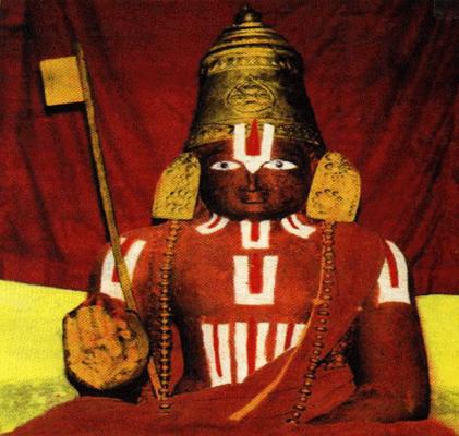 Ramanujacharya's Samadhi