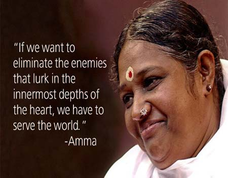 Food Basket Program for Homeless people by Amma (Mata Amritanandamayi) Ashram