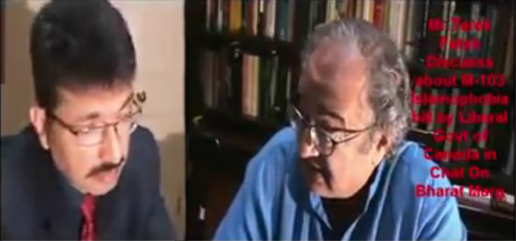 Tarek Fatah on 1984 Sikh Massacre and Khalistan