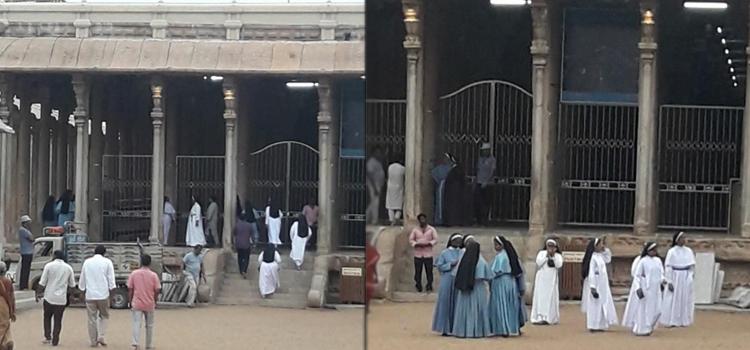 Christian Missionaries Attack Srirangam Temple !!! Are we in War?