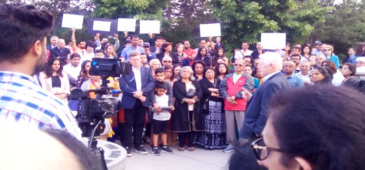 Remembrance and Prayer Event for Victims of 1985 Air India-182 Plane bombed and murdered by Khalistani Terrorists