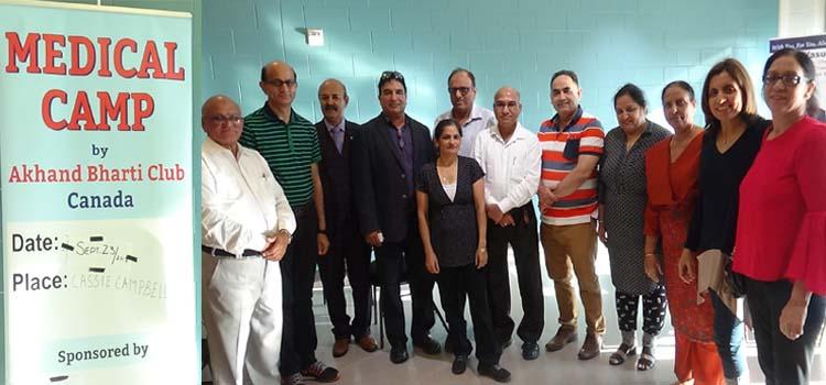 Akanda Bharathi Cultural (ABC) Club Free medical camp