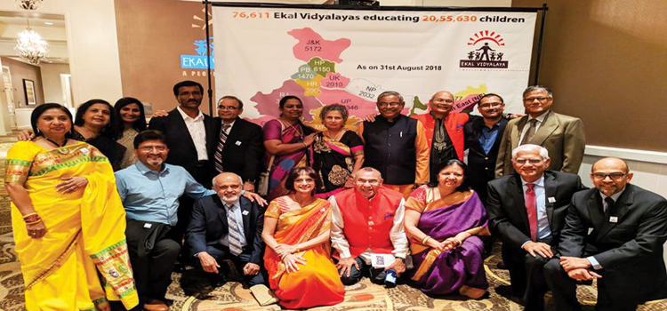 Make a resolution to educate a village with Ekal Vidyalaya today