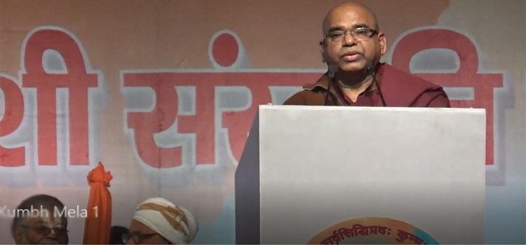 Buddhist Monk says Ram Mandir Wahi Banega aur Abhi Banega
