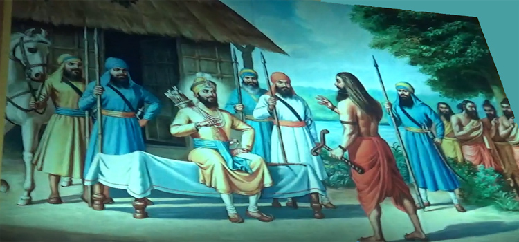 History of Sikhs Gurus from Kumbh Mela Prayagraj