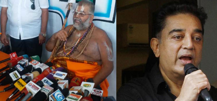Kamal Hassan says First Hindu Terrorist Godse – Mannargudi Jeeyar & Hindu community show him mirror
