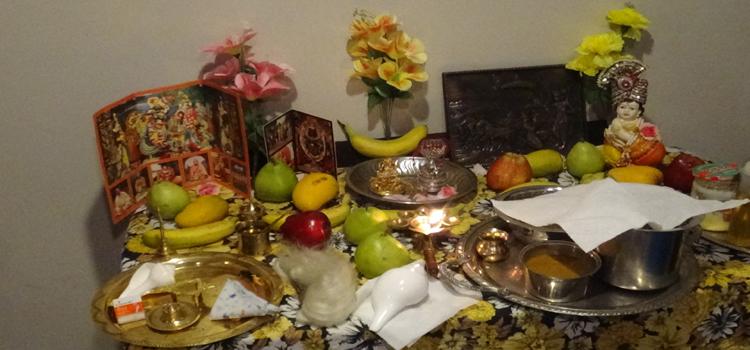 Prayer seeking needed rain in Bharat – Hare Rama Hare Krishna Chanting