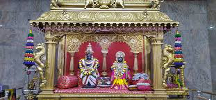Sri Vittal Rukmini Temple with huge Cow stable  – Govindapuram