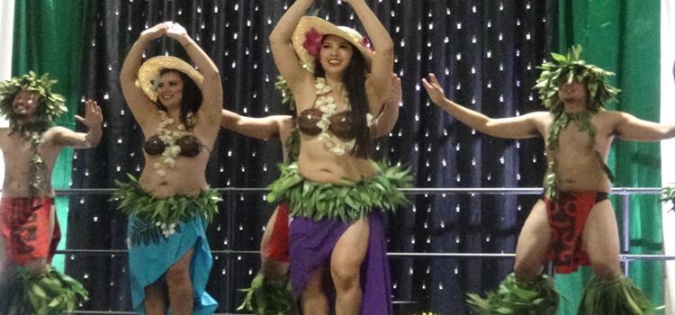 Hawaiian Dance in Indo-Hawaiian Pavilion of Carabram Brampton, Canada