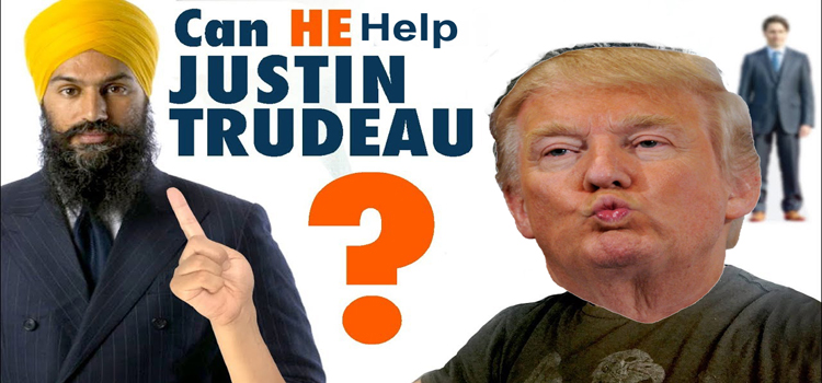 """Will #NDP Jagmeet Singh end up helping Justin Trudeau to win the election? – Check out """"My Take"""""""