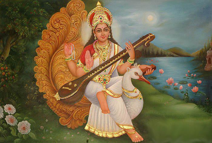 Saraswati Namastubhyam – Sloka  by Vaishnavi Dilipan