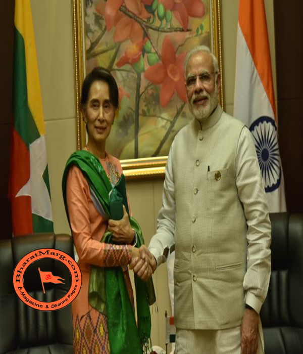 Modi Govt. builds Hindu Colony of 250 homes – For Hindu Refugees in Myanmar