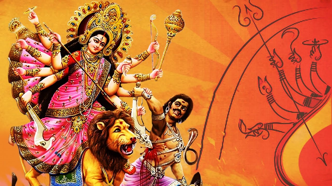 Mahishasura Mardini Stotram by Vaishanvi Dilipan !! With Lyrics in English & Hindi