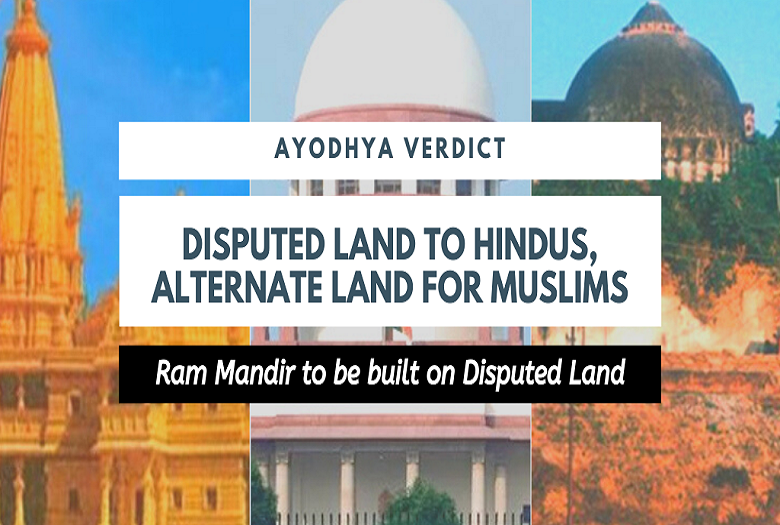 """ Ram Mandir"" Ayodhya verdict and what it means to Hindus and Bharat"