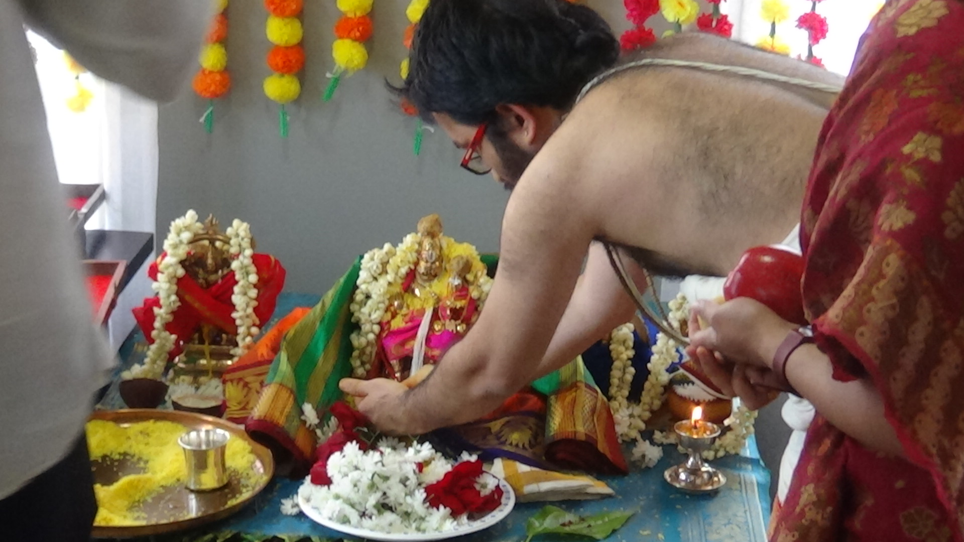 Lakshmi Narasimha Swamy Kalyana Utsavam – Marriage Ceremony of the God in Canada : Part 2