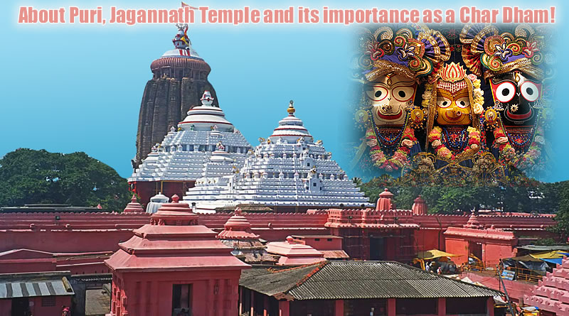 Flag changing Ceremony & Abhishek at Jagannath Puri Temple