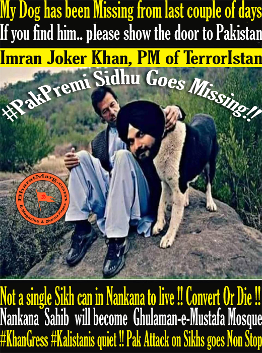 Dog has been Missing from last couple of days – #PakPremi Sidhu Goes Missing!!