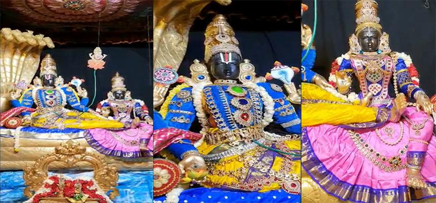Mukkoti Ekadashi celebration and Swarga Vaasal opening !!