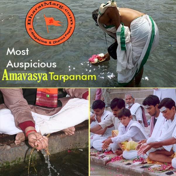 Amavasya – Pitru Tarpanam : Easy Tips to get Blessed