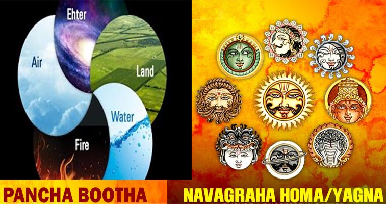 Pancha Bootha Navagraha Homa for Universal Prosperity