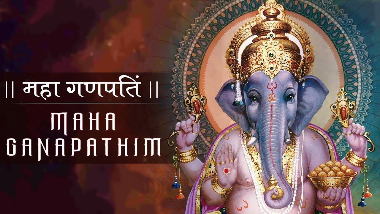 Maha Ganapathim.. Shree Ganesh Stuti by Vaishnavi Dilipan