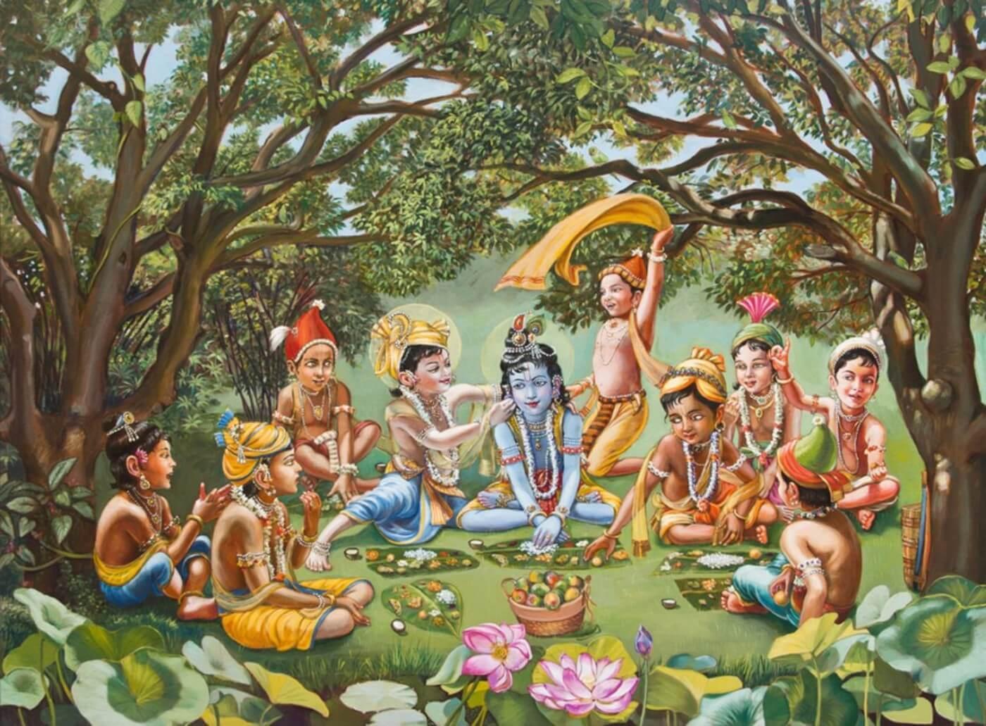 Vrindhavan Ki Mahima – By His Grace Sri Purushottam Sharma Ji !!