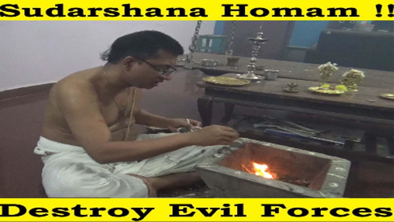 Watch Sudarshana Homam – Blessings to All