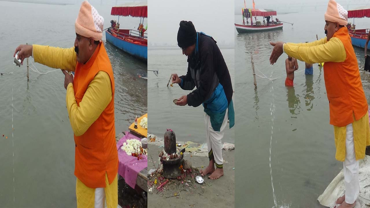 Sarayu River Pooja – Salkala Papa Vimochana !!
