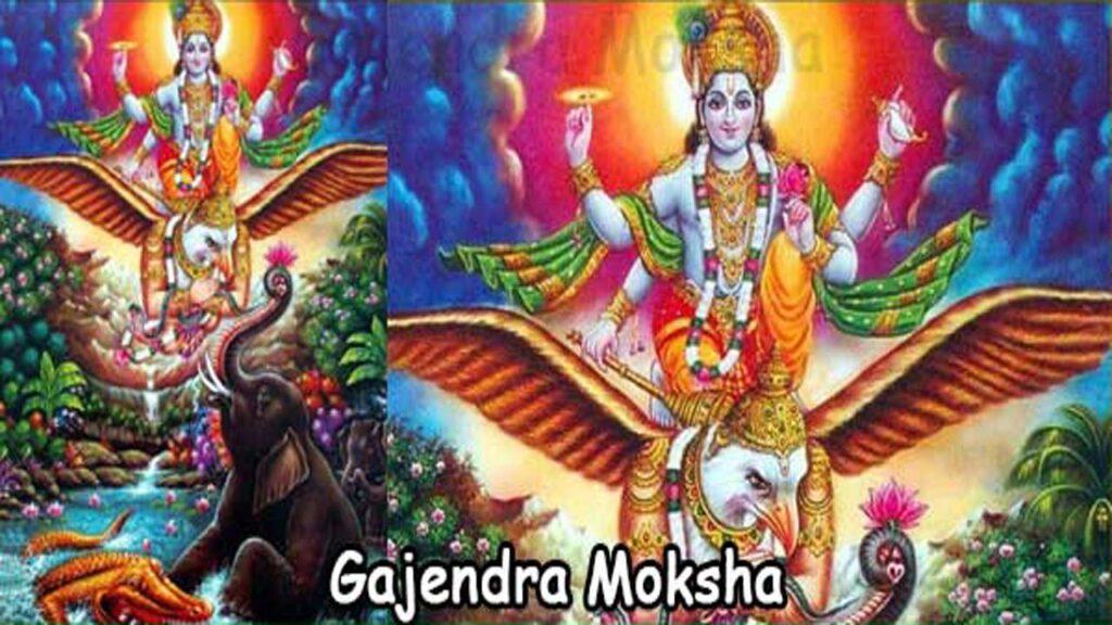 Gajendra Moksham Story – Sthala Puran & Stotra