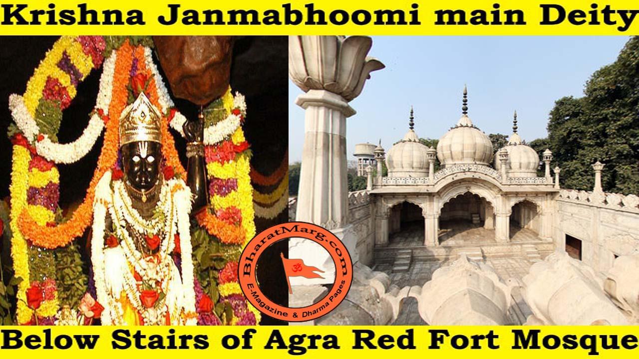 Break Agra mosque to recover hidden Krishna deity !!