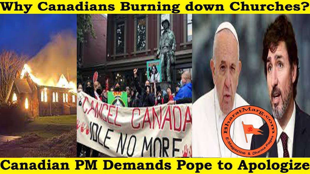 Why Canadians Burning down Churches?